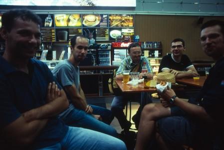 Čekanje u Moskvi na let za Novosibirsk
