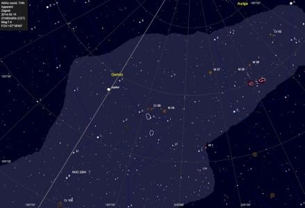 Otvoreni skupovi Messier 35-38