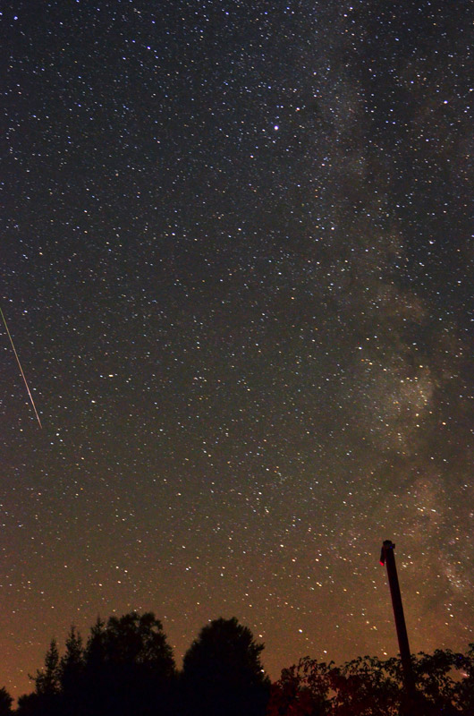 Фотографирање на метеори
